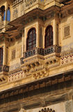 Udaipur traditional architecture, Rajasthan, India Royalty Free Stock Image