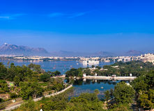 Udaipur view Royalty Free Stock Photography