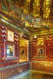 Udajpur宫殿内部  Udajpur,印度 库存图片