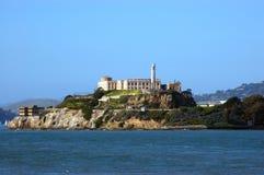 /udamy się na wyspę alcatraz! Zdjęcie Stock