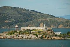 /udamy się na wyspę alcatraz! Zdjęcie Royalty Free