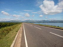 Udawalawa reservoir. Beautiful seen around udawalawa reservoir Stock Photography