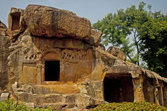 Udayagiri caves Stock Images