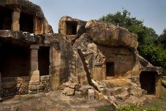 Udayagiri caves Royalty Free Stock Images