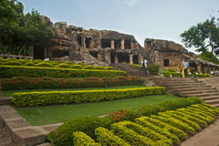 Udayagiri caves Stock Photo