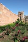 Udayas Kasbah in Rabat, Morocco Stock Image