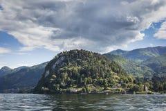 Udde av Bellagio och sjön Como, Italien royaltyfria bilder