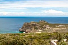 Udde av bra hopp. Uddehalvö Atlantic Ocean. Cape Town. Sydafrika Royaltyfri Bild