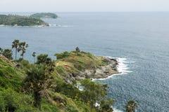 Udde av Phuket, Thailand Fotografering för Bildbyråer