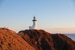 Udde Byron Lighthouse, Byron Bay, Asutralia royaltyfri foto