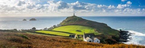 Udde Cornwall England UK Fotografering för Bildbyråer