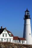 Udde Elizabeth Lighthouse Royaltyfri Foto