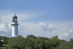 Udde Elizabeth Lighthouse fotografering för bildbyråer