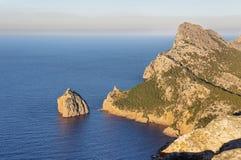 Udde Formentor i Majorca, Spanien royaltyfria bilder