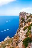 Udde Formentor, Mallorca royaltyfri fotografi