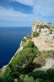 Udde Formentor, Mallorca Royaltyfria Bilder
