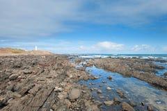 Udde Jervis Shoreline Royaltyfri Fotografi