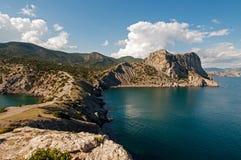 Udde Kapchik i Black Sea fotografering för bildbyråer