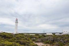 Udde Nelson Lighthouse Arkivbild