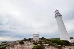 Udde Nelson Lighthouse Royaltyfria Bilder