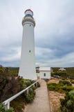 Udde Nelson Lighthouse Royaltyfri Fotografi