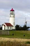 Udde Oregon USA för Stillahavskusten för uddeBlanco fyr Royaltyfria Bilder