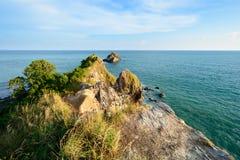 Udde på den Lanta ön Fotografering för Bildbyråer
