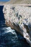 Udde på Kornati öar, Kroatien Arkivbild