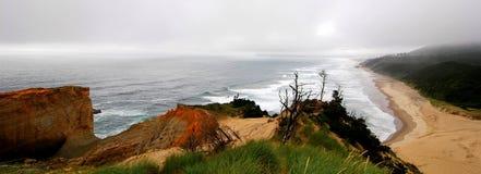 Udde Stillahavs- Kiwanda -, stad Oregon Fotografering för Bildbyråer