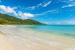 Uddebedrövelse i tropiska norr Queensland, Australien arkivfoto
