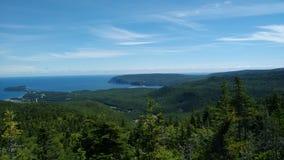 UddeBretonSkotska högländerna, östliga Kanada fotografering för bildbyråer