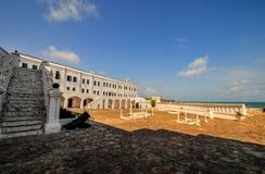Uddekustslott - Ghana arkivfoton