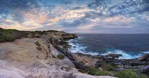 UddeSolander panorama Australien Royaltyfri Fotografi