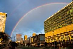 UddeTown's regnbåge Royaltyfri Fotografi