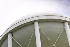 The uderside of a water tower Royalty Free Stock Image