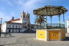 Uderzający wizerunek Nazaré, Portugalia - Zdjęcie Stock