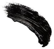 Uderzenia czarna farba obrazy royalty free