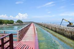 Uderzenia Khun Thian morza widok Obrazy Stock