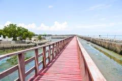 Uderzenia Khun Thian morza widok Zdjęcia Stock