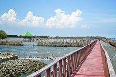 Uderzenia Khun Thian morza widok Zdjęcie Royalty Free