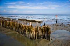 Uderzenia Khun Thian morza widok Fotografia Stock