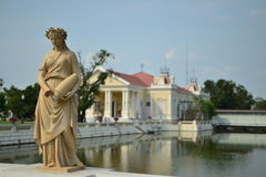 uderzenia pa pałac Obraz Royalty Free