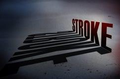 Uderzenia zapobiegania pojęcie Zdjęcie Stock
