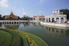 Uderzenie w Royal Palace, Ayutthaya -, Tajlandia Fotografia Royalty Free