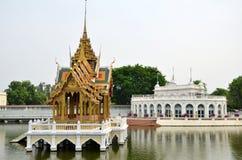 Uderzenie w Royal Palace w Ayutthaya, Tajlandia Zdjęcie Royalty Free