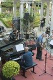 Udin & Jazz festival. A concert in Udin & Jazz festival 2015 in Udine Italy Royalty Free Stock Photography