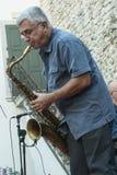 Udin & Jazz festival. A concert in Udin & Jazz festival 2015 in Udine Italy Stock Image
