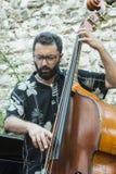Udin & Jazz festival. A concert in Udin & Jazz festival 2015 in Udine Italy Royalty Free Stock Photos