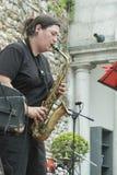 Udin & Jazz festival. A concert in Udin & Jazz festival 2015 in Udine Italy Royalty Free Stock Image