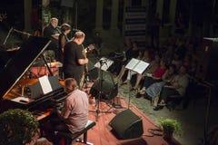 Udin & Jazz festival. A concert in Udin & Jazz festival 2015 in Udine Italy Stock Photography